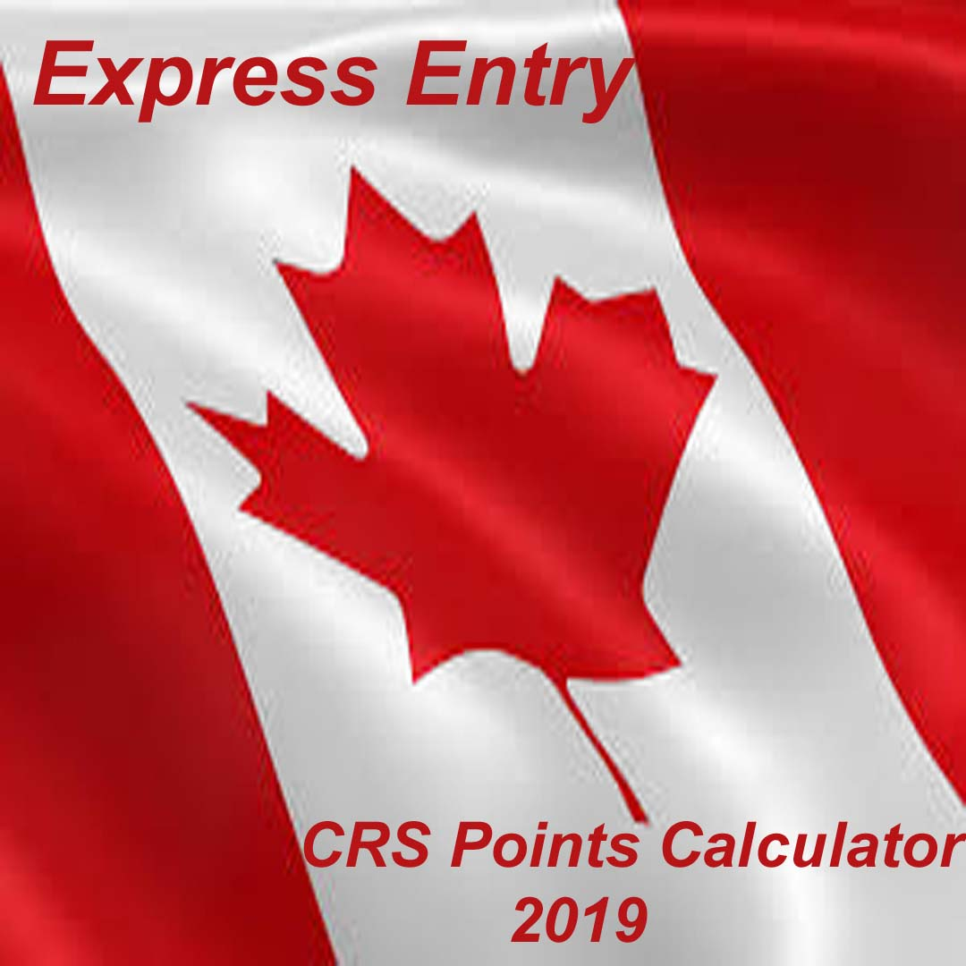 Canada PR CRS Points Calculator
